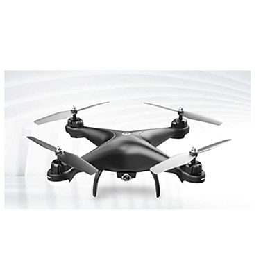 Drone on gray background