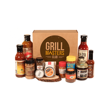 Example of Grill Masters Club box